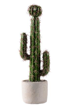Cacto Artificial no Vaso