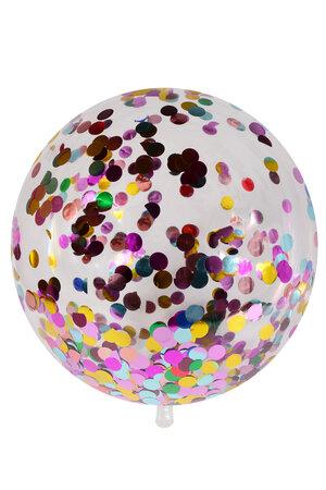 Balão Bubble com Confete