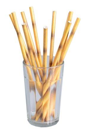 Canude de Papel -Bambu