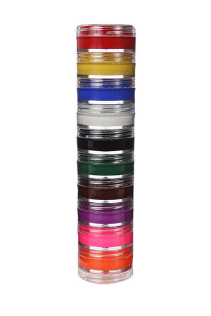 Kit Colormake Tinta Facial Cremosa c/ 10 unidades