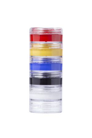 Kit Colormake Tinta Facial Cremosa c/ 5 unidades