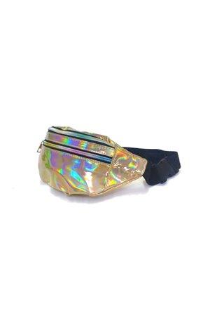 Pochete Metalizada Holografica