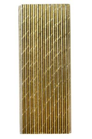 Canudo de Papel - Metalizado