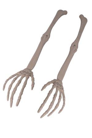 Esqueleto Mão Decorativa de Halloween