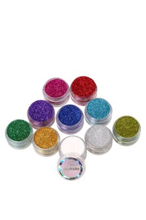 Kit Colormake Glitter Cremoso c/ 10 unidades