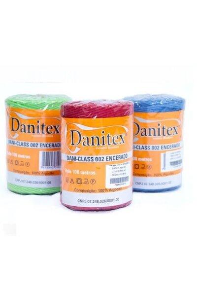 Cordão Encerado 002 Grosso 2MM Danitex - rolo com 100M