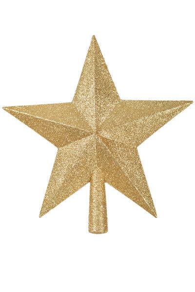Ponteira de Estrela Glitter 25cm
