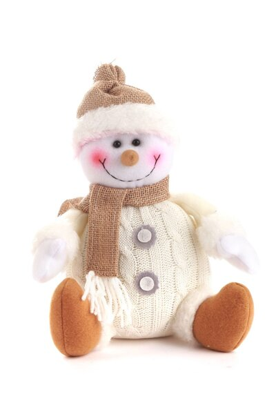 Boneco de Neve Sentado