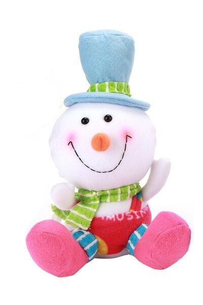 Boneco de Neve Colorido de Chapéu