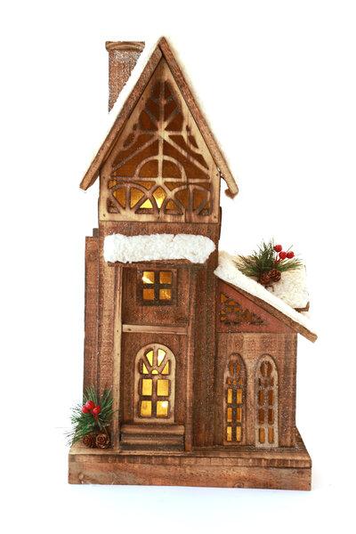 Casa Rústica Decorativa