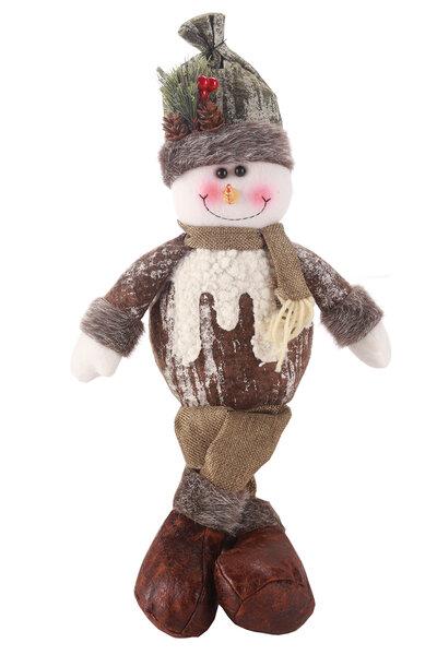 Boneco de Neve c/ Roupa Nevada e Perninhas Penduradas