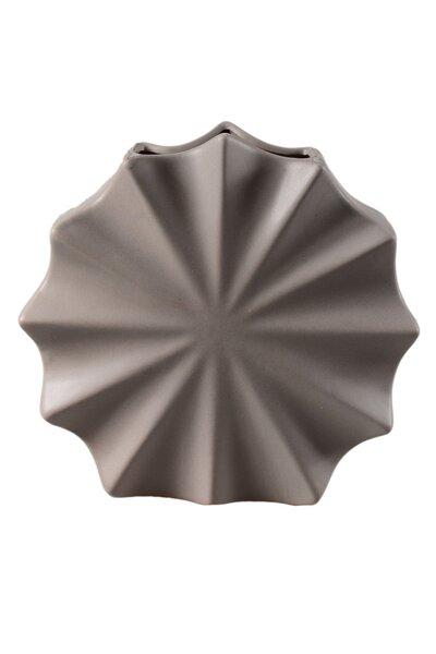 Vaso de Cerâmica Concha 26cm