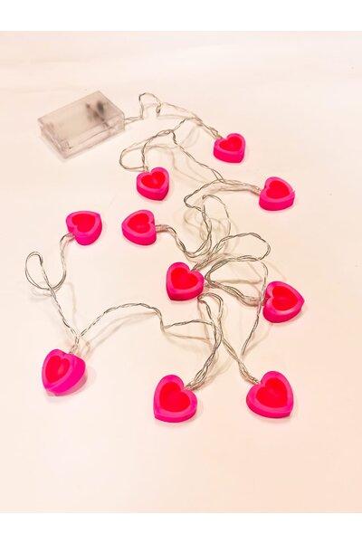 Pisca LED Coração