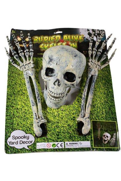 Kit Esqueleto Decorativo Halloween para jardim