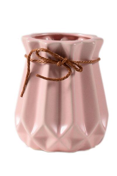 Vaso de Cerâmica Chanfrado