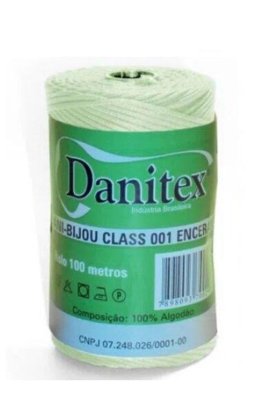 Cordão Encerado 001 Médio 1,5MM Danitex - rolo com 100M