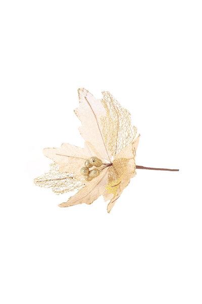 Flor Luxo Poinsettia Rústica de Junta