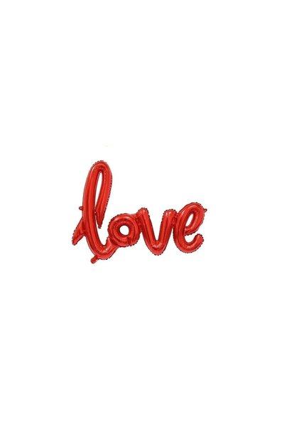 Balão Metalizado Love 1M