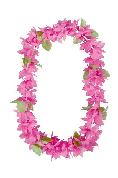 Colar Havaiano Luxo com folhas