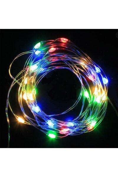 Fio de Fada LED 1m Luz Colorida