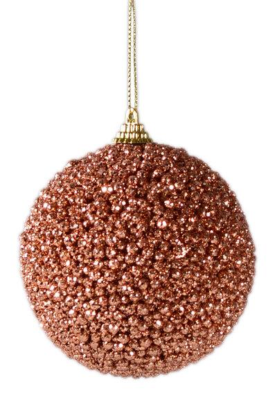 Bola Natalina Luxo c/ Esferas 2 Unidades
