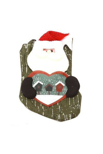 Bota Papai Noel com Coração na Mão