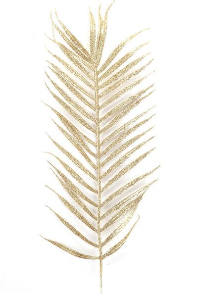 Folha Palmeira de Glitter - 2 unidades