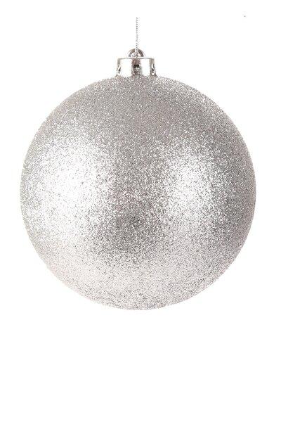 Bola Natalina Luxo c/ Glitter 20cm