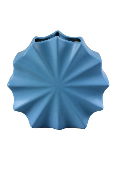 Vaso de Cerâmica Concha 20cm