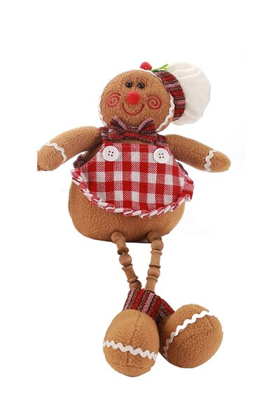 Boneco de Cookie Menina Sentada