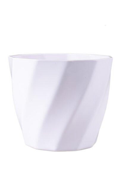 Vaso Plástico com Design Diagonal