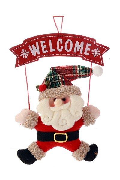 Mini Guirlanda Papai Noel Welcome