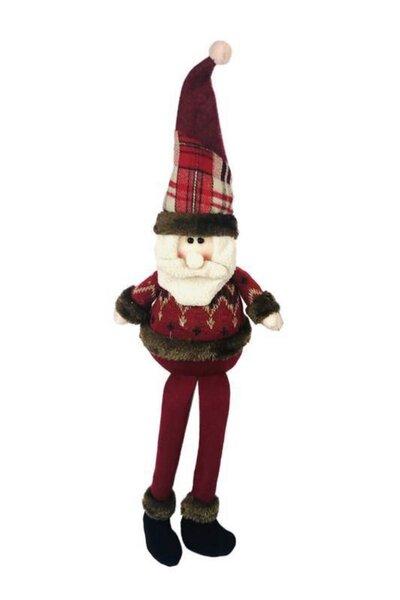 Boneco Noel Sentado com perninhas penduradas