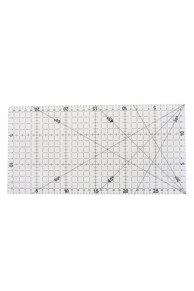 Régua Retangular para Patchwork 30x15cm