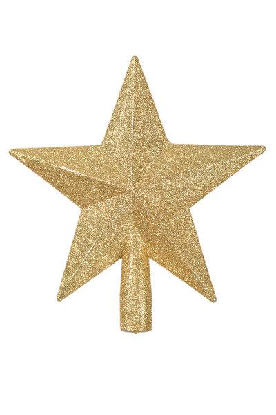Ponteira de Estrela Glitter 20cm