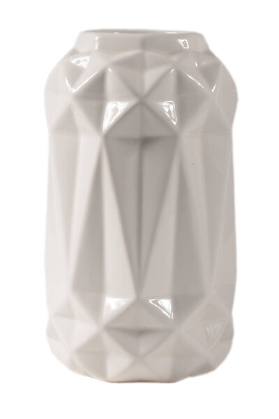 Vaso de Cerâmica Chanfrado 25cm