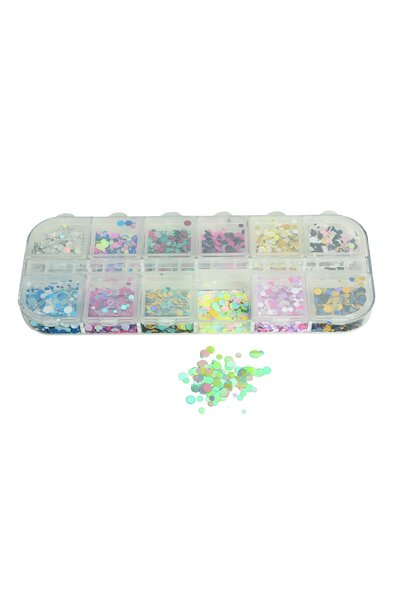 Glitter Para Unhas Bolinhas