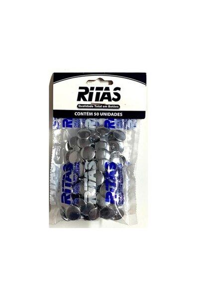 Botão de Pressão Ritas - pct com 50un