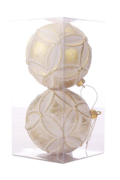 Bola Natalina Luxo Losangos