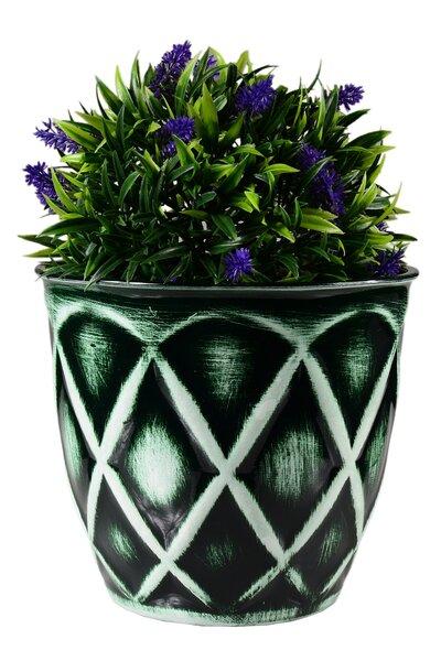 Vaso Grande de Plástico imitando cerâmica