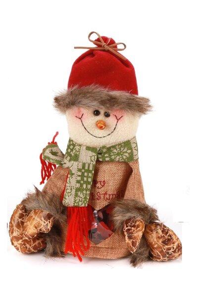 Boneco de Neve Porta Coisas