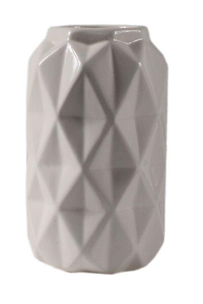 Vaso de Cerâmica Chanfrado 20cm