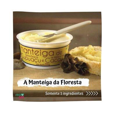 Manteiga de Cupuaçu e Cacau