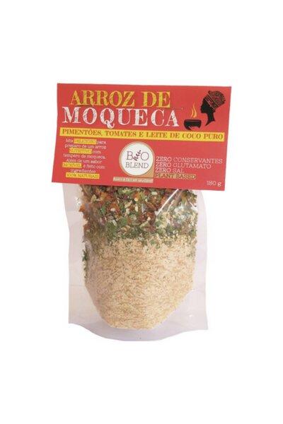 Arroz de Moqueca (Arroz Basmati, Pimentões, tomates e leite de coco puro) Bio Blend - 180g