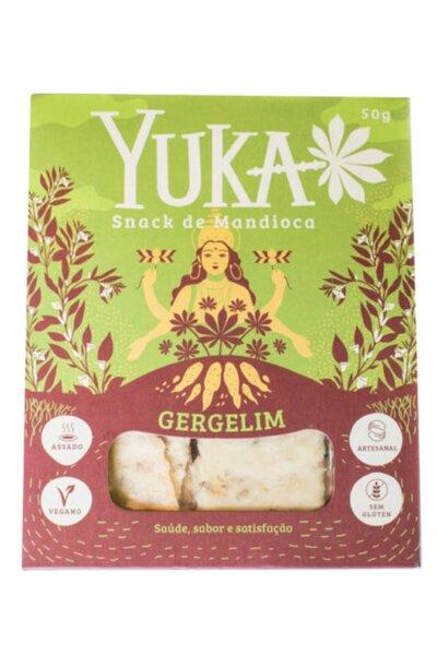Snack de mandioca e gergelim Yuka - 50g