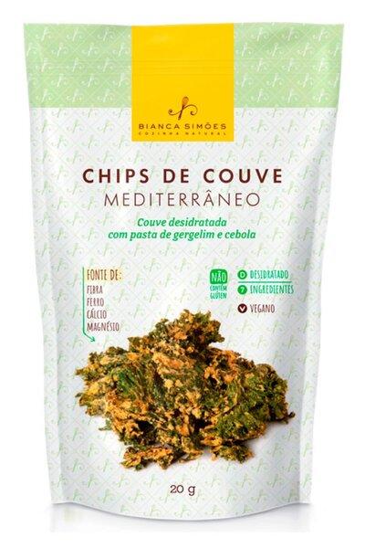 Chips de couve mediterrâneo - Bianca Simões - 20g