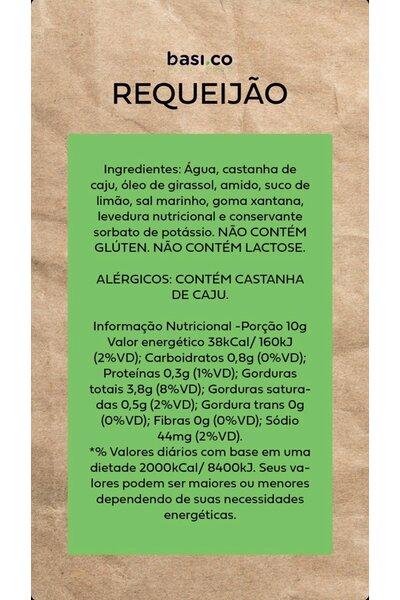 Requeijão vegetal basico - 180g