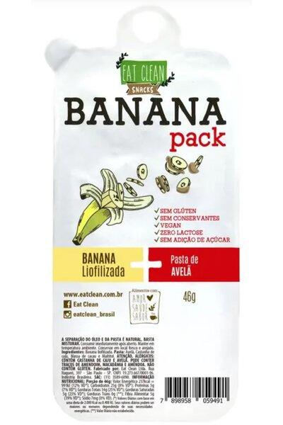 Banana Pack Pasta de avelã - Eat Clean 46g