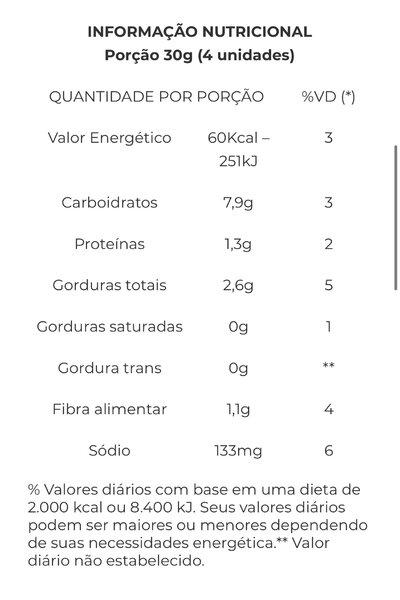 Biscoito Cajulinha (castanha de caju e cebolinha) Alere - 70g