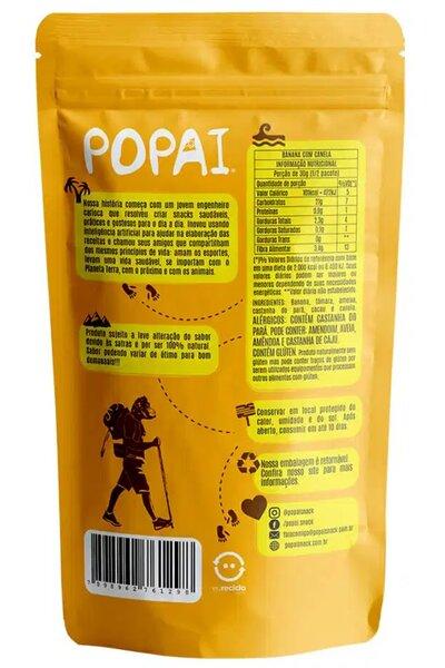 Snack Energy sabor Banana com canela Popai - 50g